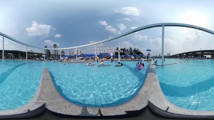 한강 야외수영장 개장
